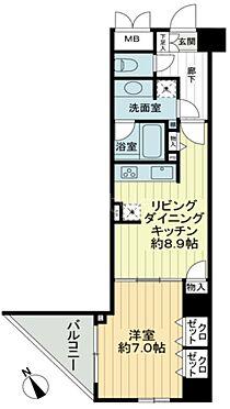 区分マンション-新宿区歌舞伎町2丁目 間取り