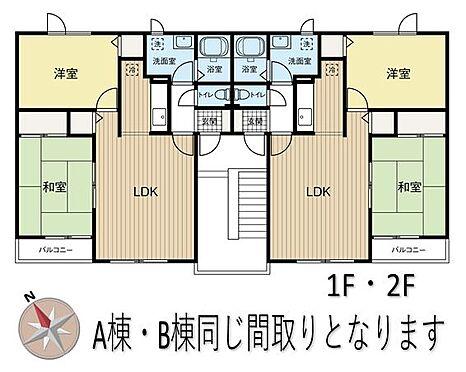 アパート-札幌市東区伏古十二条2丁目 間取