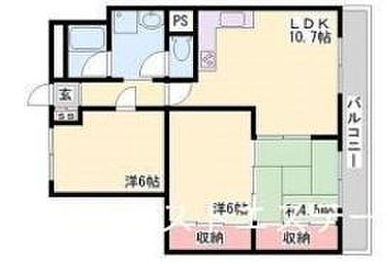 マンション(建物一部)-神戸市灘区一王山町 全部屋6帖以上の3LDK