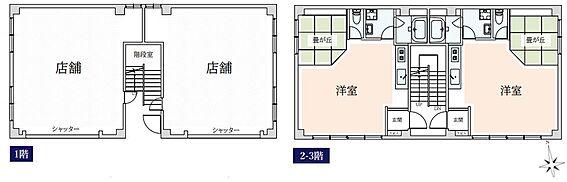 収益ビル-台東区浅草3丁目 間取り