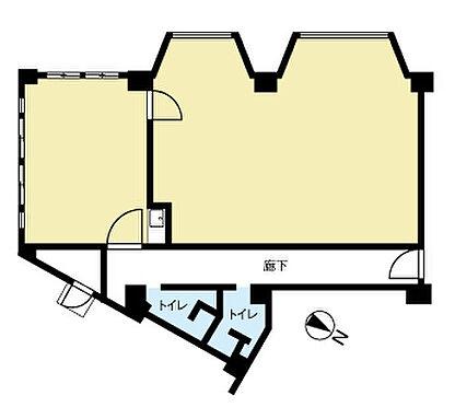 店舗(建物一部)-札幌市北区北二十一条西8丁目 間取