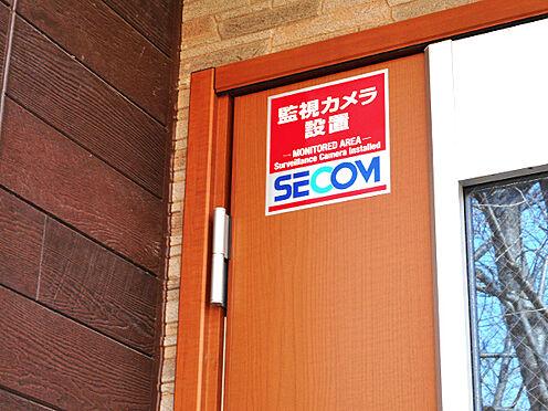 アパート-千葉市稲毛区稲毛台町 セコムセキュリティシステムによる防犯対策
