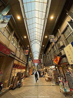 戸建賃貸-横須賀市鶴が丘1丁目 衣笠商店街 全長約250mのアーケードのある商店街です。