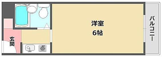 マンション(建物一部)-神戸市東灘区深江本町1丁目 単身者向けのシンプルな間取り