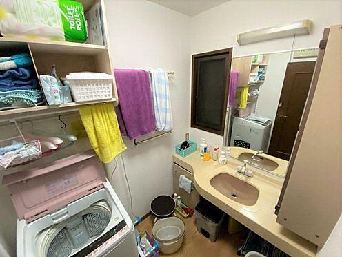 中古一戸建て-小牧市篠岡1丁目 洗面スペース。