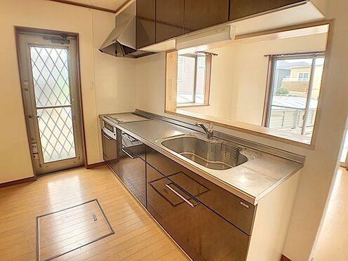 戸建賃貸-西尾市山下町西八幡山 オール電化住宅。キッチンもIH仕様で火を使わないので小さなお子様がいるご家庭にも安心です。