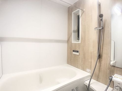 中古一戸建て-みよし市潮見 ゆったり足の伸ばせる浴室で一日の疲れを癒してください