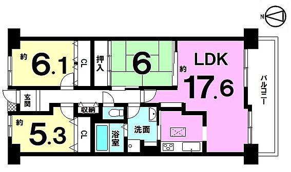 マンション(建物一部)-桜井市大字慈恩寺 間取り