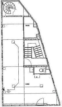 ビル(建物全部)-葛飾区高砂8丁目 3階間取り