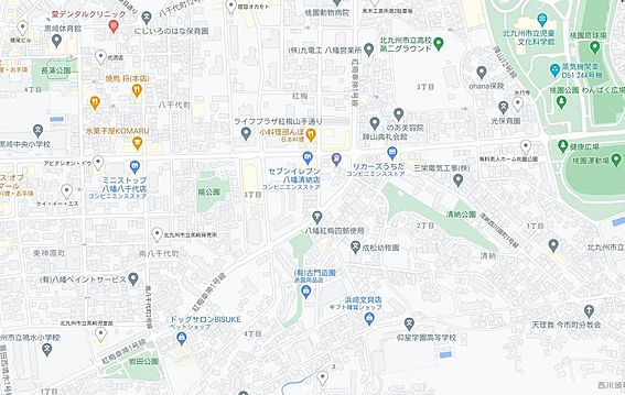 マンション(建物一部)-北九州市八幡西区紅梅3丁目 地図