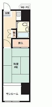 区分マンション-勝浦市沢倉 間取り