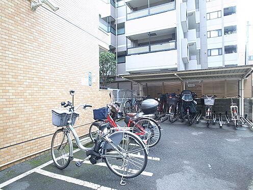 中古マンション-新宿区中落合1丁目 駐輪スペース