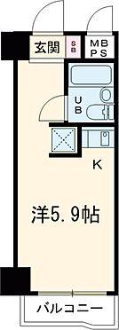 マンション(建物一部)-八王子市横山町 間取り