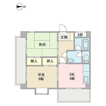 マンション(建物全部)-稲城市平尾1丁目 301号室の間取りです