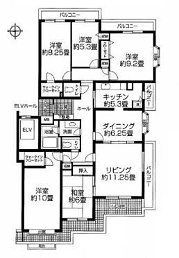 マンション(建物一部)-横須賀市野比3丁目 間取り
