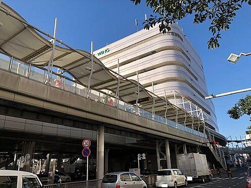 土地-鎌倉市小袋谷1丁目 便利な駅ビルはショップ多数