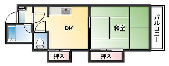 マンション(建物一部)-札幌市豊平区平岸二条18丁目 1DKです