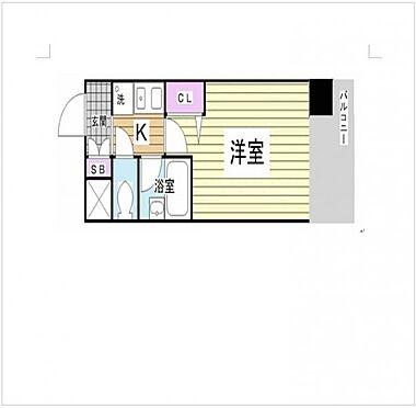 マンション(建物一部)-神戸市中央区雲井通3丁目 間取り