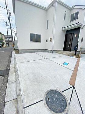 新築一戸建て-仙台市宮城野区二の森 駐車場