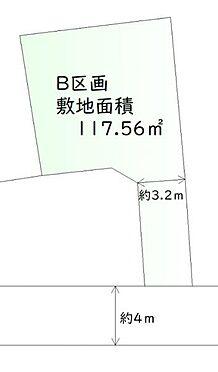土地-仙台市青葉区柏木2丁目 区画図