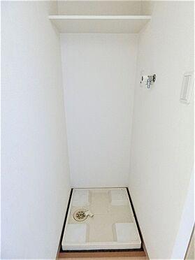 区分マンション-品川区荏原4丁目 洗濯機防水パン