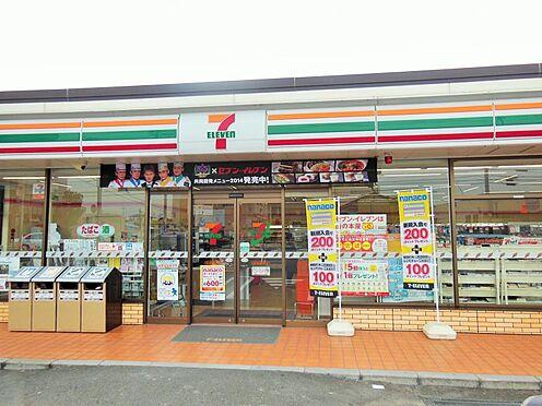 戸建賃貸-額田郡幸田町大字高力字熊谷 セブンイレブンまで約600m 徒歩約8分
