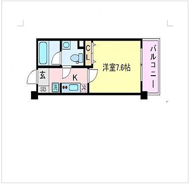 マンション(建物一部)-神戸市中央区北本町通4丁目 間取り