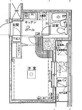 マンション(建物一部)-新宿区中落合3丁目 間取り