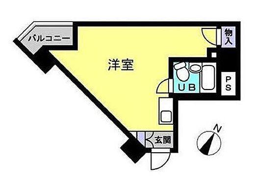 区分マンション-墨田区東向島6丁目 間取り