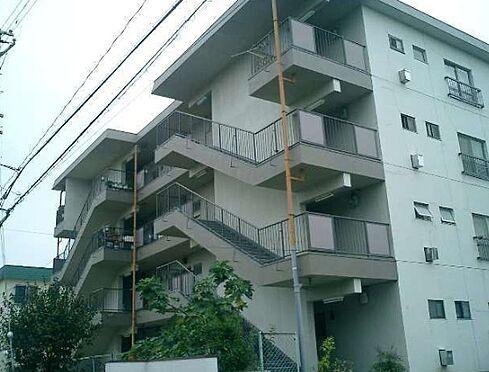 マンション(建物一部)-神戸市北区緑町2丁目 植栽の植わる穏やかな外観