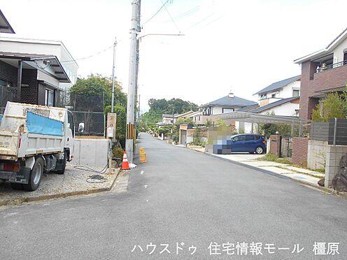 戸建賃貸-橿原市菖蒲町3丁目 周辺は交通量が少なく、小さなお子様がいらしても安心。とっても静かな環境です。
