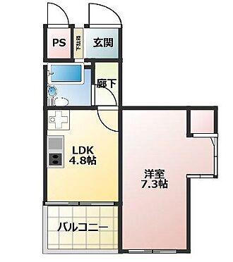 マンション(建物一部)-神戸市中央区中山手通4丁目 エアコン新品・室内洗濯機置場
