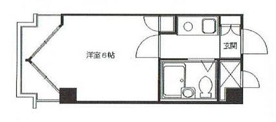 マンション(建物一部)-京都市中京区西洞院通姉小路下る姉西洞院町 間取り