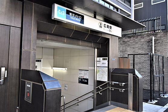 区分マンション-港区南麻布5丁目 東京メトロ日比谷線「広尾」駅から徒歩1分のロケーション