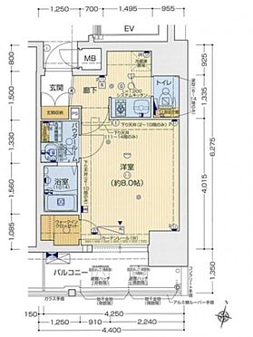 マンション(建物一部)-神戸市中央区御幸通2丁目 間取り