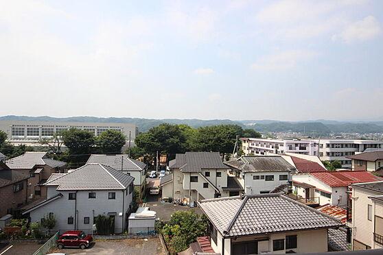 マンション(建物一部)-青梅市河辺町4丁目 ベランダからの眺望。花火も眺められるのが、メリットです。