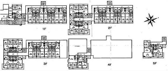 マンション(建物全部)-国立市谷保 間取り