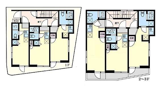 アパート-足立区加平 間取り