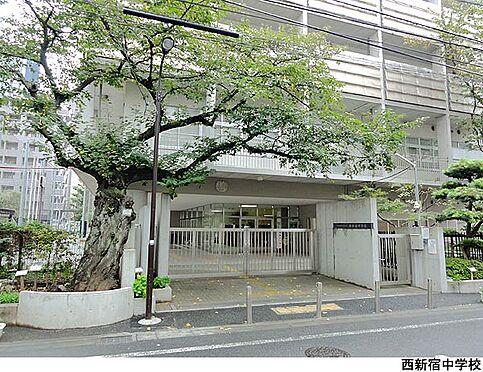 マンション(建物一部)-新宿区西新宿6丁目 西新宿中学校