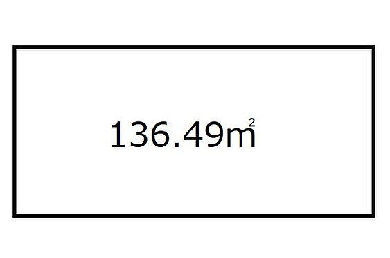 土地-大阪市西成区玉出西2丁目 区画図