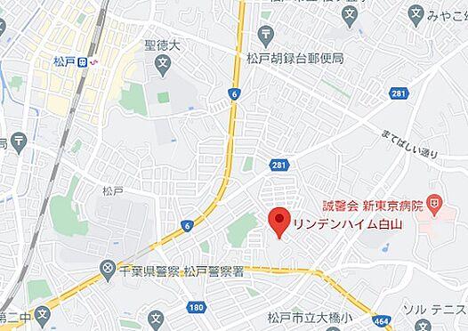 区分マンション-松戸市松戸 地図