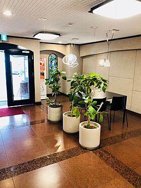 マンション(建物一部)-大阪市中央区北久宝寺町4丁目 綺麗なロビーあり