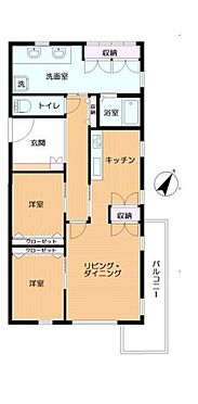 中古マンション-横浜市中区弥生町5丁目 間取り