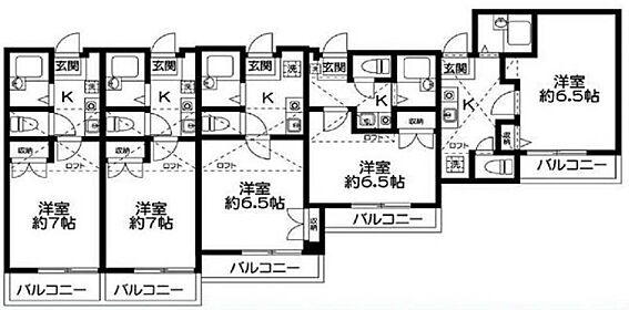 アパート-横浜市港南区最戸2丁目 間取り