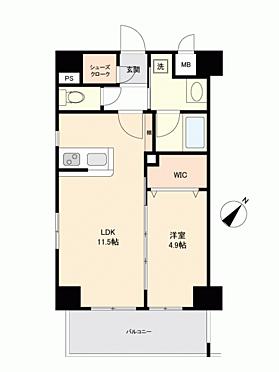 マンション(建物一部)-福岡市博多区博多駅南3丁目 間取り