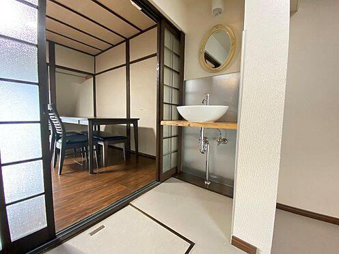 店舗・事務所・その他-京都市伏見区深草大亀谷東寺町 おしゃれな洗面台。