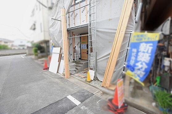 新築一戸建て-足立区谷在家3丁目 玄関