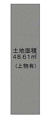 土地-豊中市豊南町南1丁目 区画図