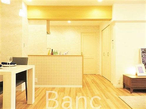 区分マンション-横浜市保土ケ谷区和田2丁目 リビングを見渡しながらの家事ができます。