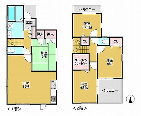 中古一戸建て-神戸市垂水区神陵台9丁目 間取り
